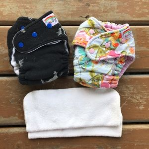 Goodmama Hybrid One Size Fitted Cloth Diapers